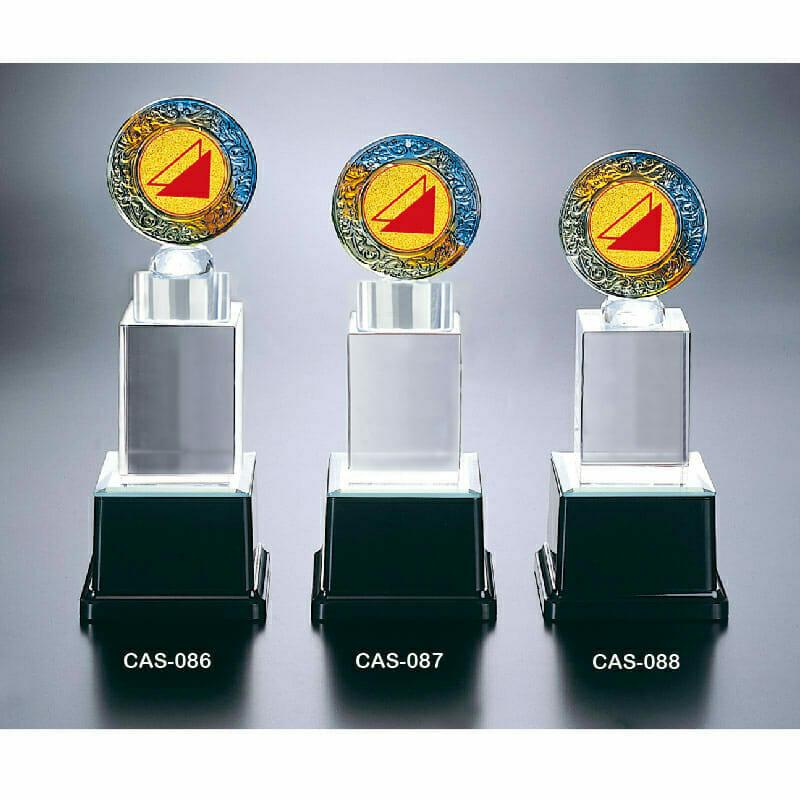 CAS-086088 水晶燈光獎座定製
