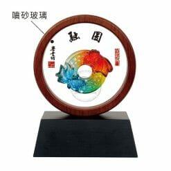 DY-103-6 立式獎牌圓融