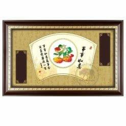 DY-151-1 事事如意木框壁飾獎匾