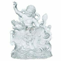 CB-C060-W Liuli Buddha Statues