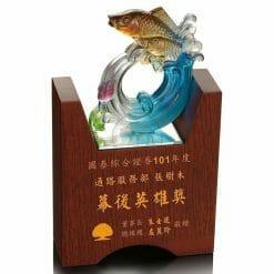 ALC 凹型木質獎牌