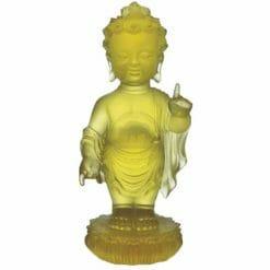 CB-C070-L Liuli Buddha Statues