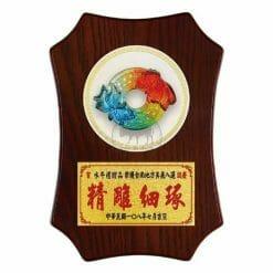DY-098-6 桌立式獎牌圓融