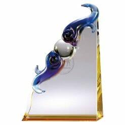 KC-02084 琉璃獎座設計