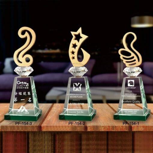 PG-154-0103 Crystal Awards