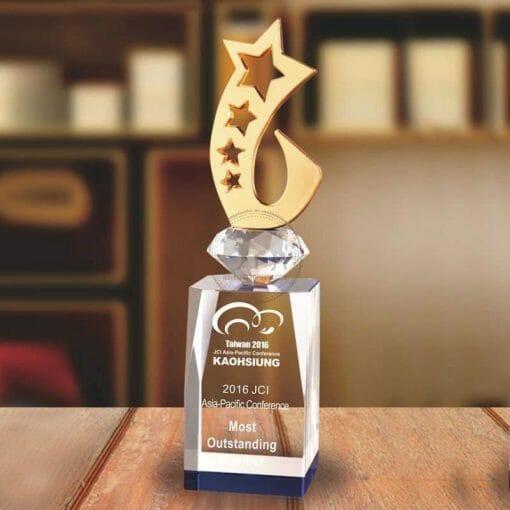 PG-157-2 Crystal Awards