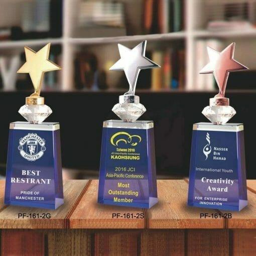 PG-161-2-GB Crystal Awards