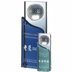 To Be Sure To Win Crystal Golf Awards