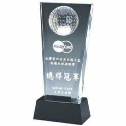 YC-G518 Crystal Golf Awards