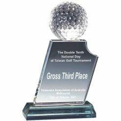 Impersonator Crystal Golf Awards