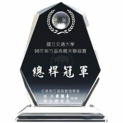 YC-G608-H Crystal Golf Awards