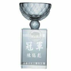 YC-G676 Crystal Golf Awards