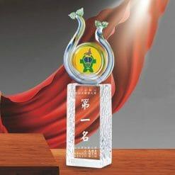 時尚水晶獎盃訂做 PD-031-1
