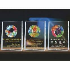 Crystal Plaques - Advancement PF-004