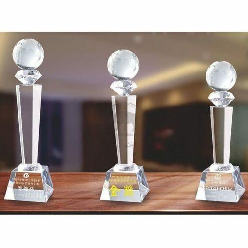 Crystal Awards - Hardworking - Earth PG-027