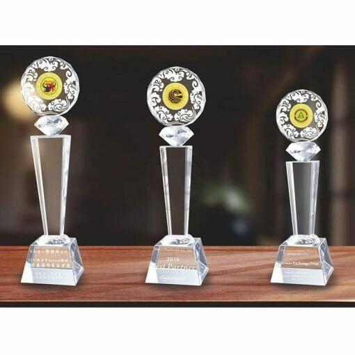Crystal Awards - Hardworking (Logo Attached) PG-181