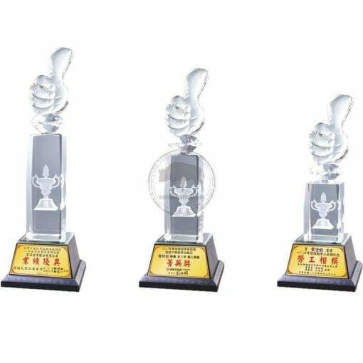 Crystal Awards - Wood & Crystal Awards - PH-001 PH-001