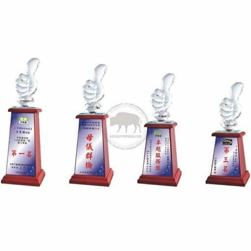 Crystal Awards - Wood & Crystal Awards - PH-025 PH-025