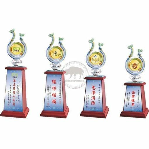 Crystal Awards - Wood & Crystal Awards - PH-032 PH-032