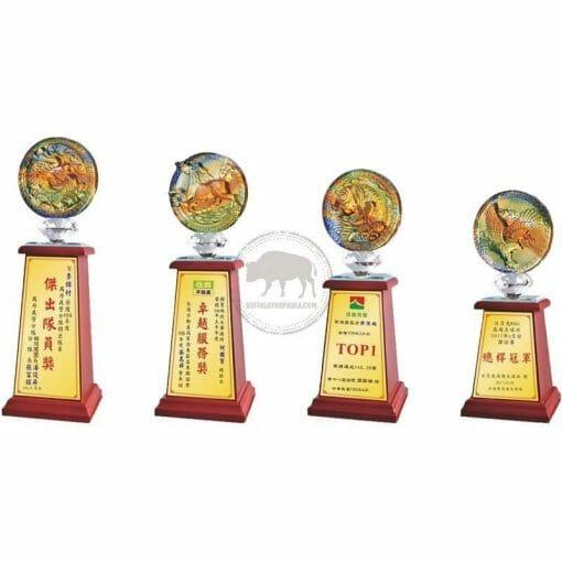 Crystal Awards - Wood & Crystal Awards - PH-067 PH-067