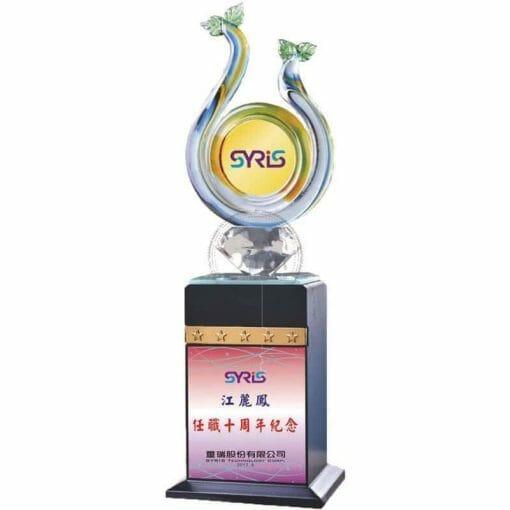 Crystal Awards - Wood & Crystal Awards - PH-108 PH-108