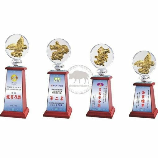 Crystal Awards - Wood & Crystal Awards - PH-115 PH-115