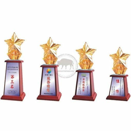 Crystal Awards - Wood & Crystal Awards - PH-122 PH-122