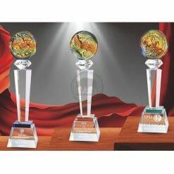 Crystal Awards - Hardworking PI-007