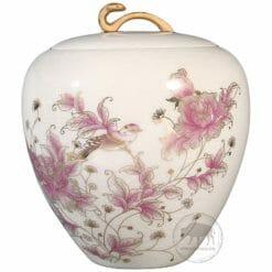 臺華窯糖果罐 - 西洋牡丹如意 0110004290