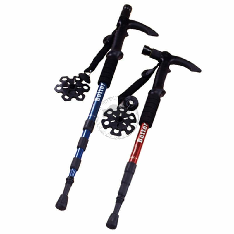 XY-CE072A 5LED燈伸縮鋁合金+4節登山杖